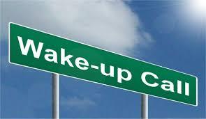 blog image wake up call
